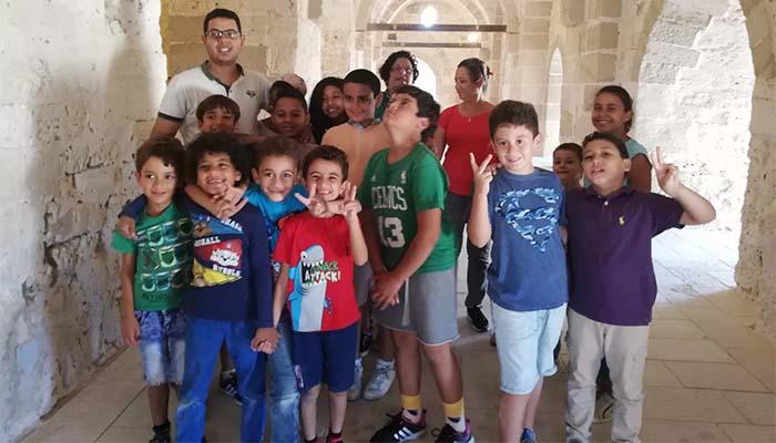 Μία ξεχωριστή εμπειρία για τους μαθητές του Πρατσίκειου Δημοτικού Σχολείου της Ελληνικής Κοινότητας Αλεξανδρείας, στο ιστορικό φρούριο Κάιτ Μπέι