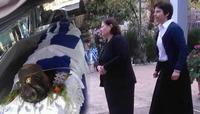 Στους Βουλιαράτες η σορός του Κωνσταντίνου Κατσίφα τυλιγμένη με την ελληνική σημαία