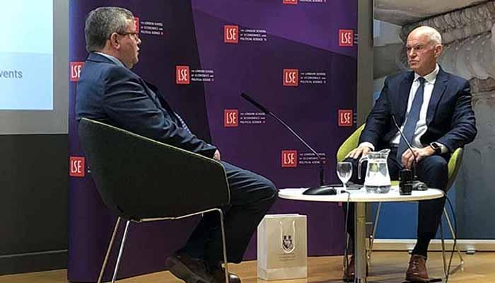 Γ. Παπανδρέου στο LSE: Έστω κι αργά, όλοι κατάλαβαν τι θα σήμαινε μια χρεοκοπία της Ελλάδας – Έπρεπε να είχα κάνει το δημοψήφισμα του 2011