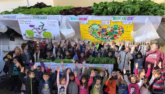 Εκπληκτικό: Κλείνει ο λαχανόκηπος που έφτιαξαν οι μαθητές του Δημοτικού σχολείου Ολύνθου εξαιτίας της εφορίας!!!!!