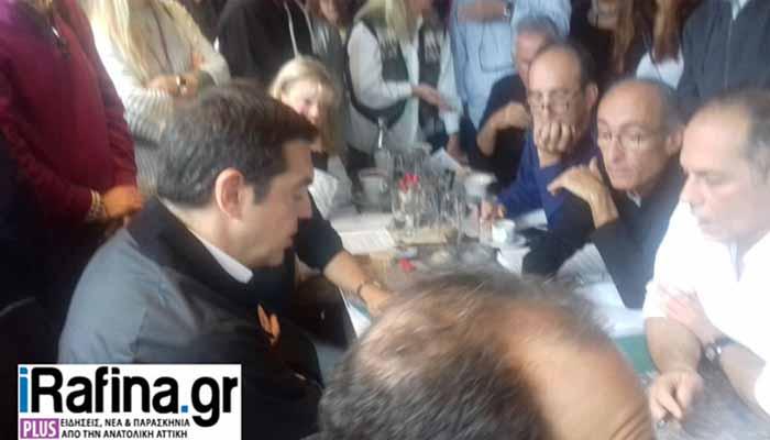 «Ινκόγκνιτο» συνάντηση Τσίπρα – Σπίρτζη με τους κατοίκους στο Μάτι