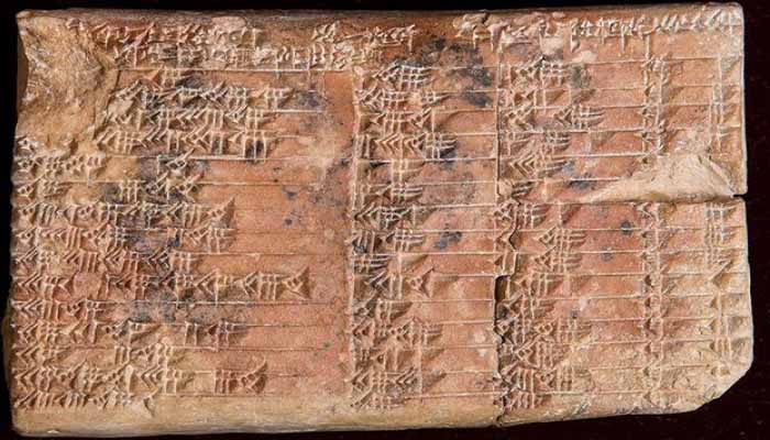 Βρέθηκε αρχαία πινακίδα που ξαναγράφει την ιστορία των μαθηματικών