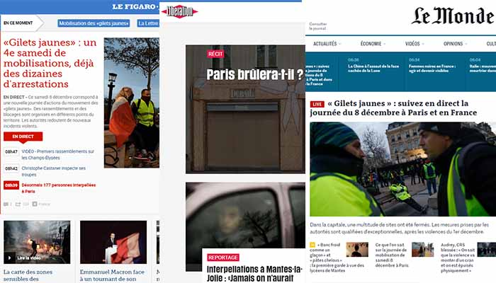 Θα καεί σήμερα το Παρίσι; - Συναγερμός για τις νέες κινητοποιήσεις των «Κίτρινων γιλέκων»