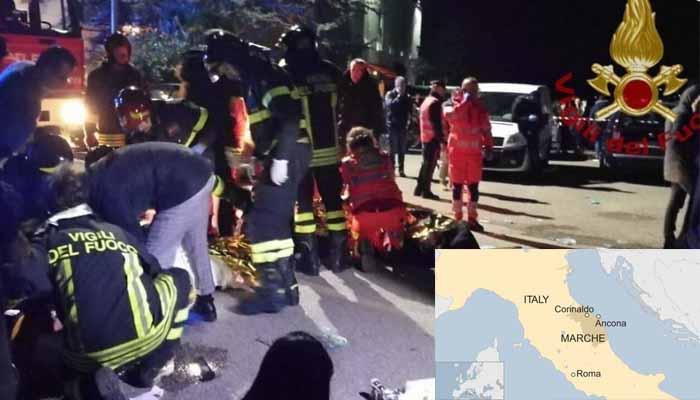 Ιταλία: Πανικός σε κλαμπ - Ποδοπατήθηκε κόσμος – 6 νεκροί, 120 τραυματίες