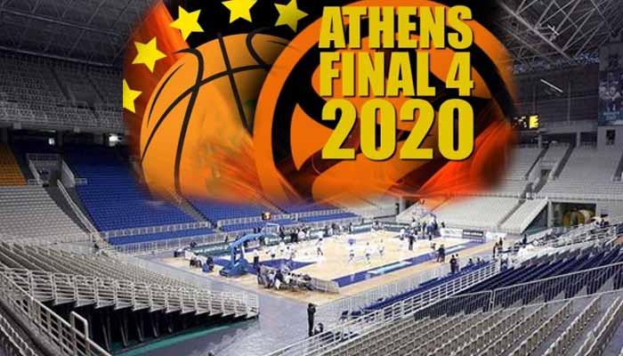 Στην Αθήνα το Final Four του 2020