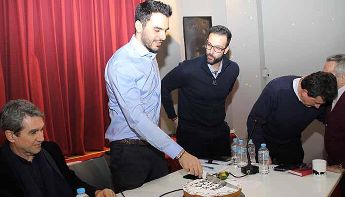 Χαλάνδρι: Το Κίνημα Αλλαγής έκοψε την πρωτοχρονιάτικη πίτα του [Φωτο]