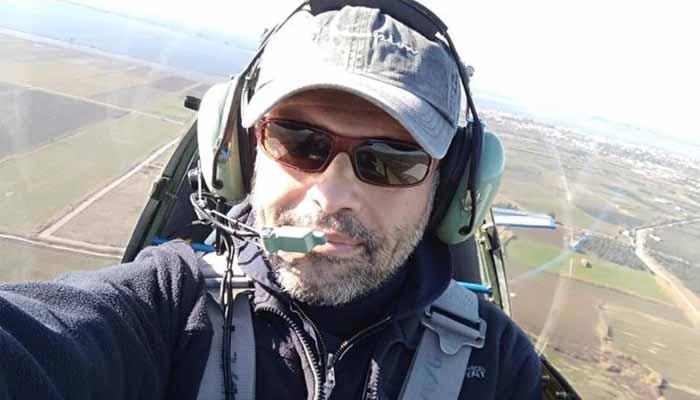 Μεσολόγγι:Βρέθηκε η σορός του πιλότου στο Μεσολόγγι