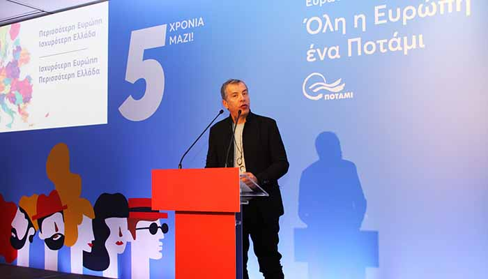 Σταύρος Θεοδωράκης: Θέλουμε να εκπροσωπήσουμε τους Έλληνες που δεν είναι Ευρωπαίοι α λα καρτ