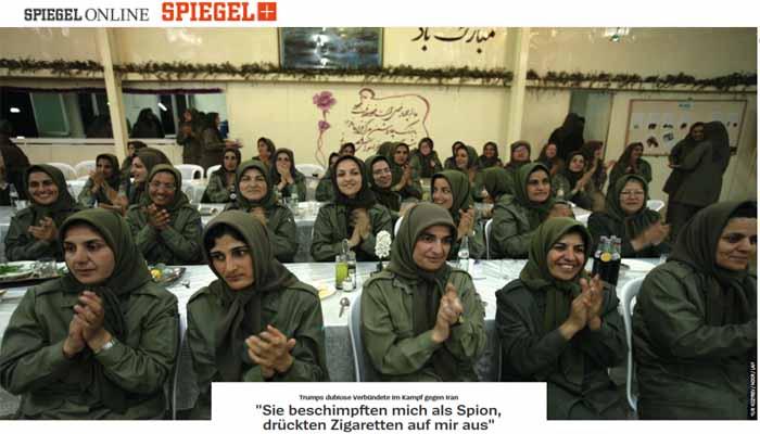 Spiegel: Στρατόπεδο 2.000 Ιρανών τζιχαντιστών στην Αλβανίαμε την υποστήριξη των ΗΠΑ