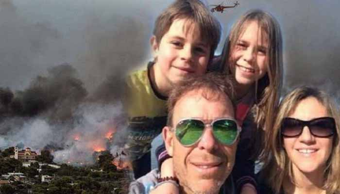 Με ασφαλιστικά μέτρα η Βαρβάρα Φύτρου, που έχασε τον σύζυγο και τα δύο της παιδιά στο Μάτι, αναζητά έγγραφα για την τραγωδία