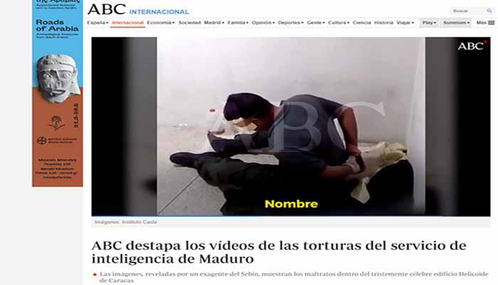 ABC: Αποκαλύπτουμε με βίντεο τα βασανιστήρια της υπηρεσίας πληροφοριών του Νικολάς Μαδούρο
