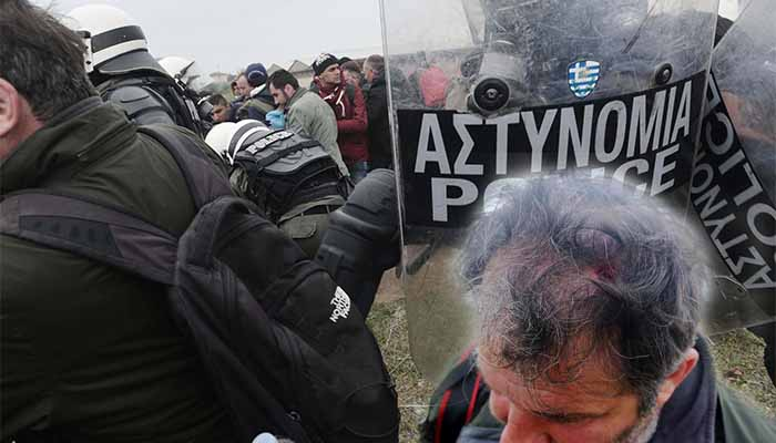 ΕΦΕ: Καταγγελία για απρόκλητη επίθεση σε φωτορεπόρτερ από αστυνομικό