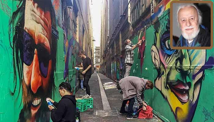 Νότης Μαυρουδής*: Γκράφιτι ως «λύση»