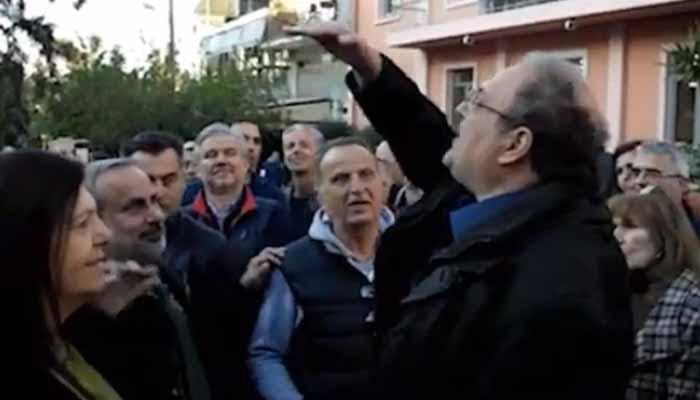 Χαλάνδρι: «Φασίστα» αποκάλεσαν τον δήμαρχο, κάτοικοι από το Πάτημα, μετά από ένταση που προκλήθηκε για το ΧΕΥ9