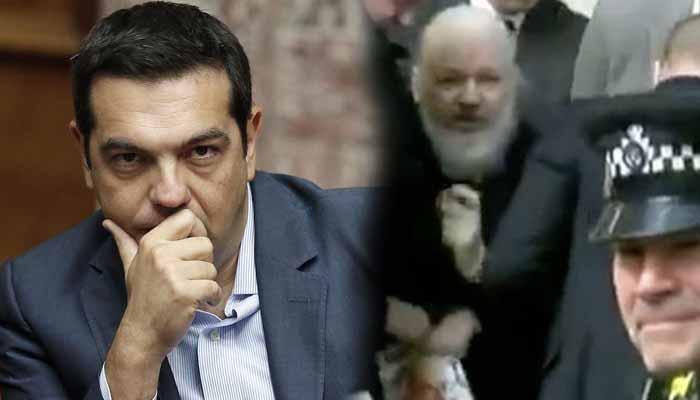 Η σιωπή κυβέρνησης-ΣΥΡΙΖΑ για την σύλληψη Ασάνζ είναι ... made in USA