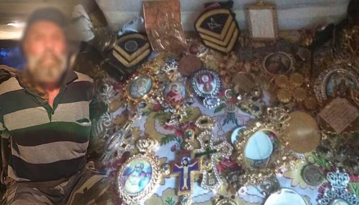 Άγιο Όρος: Κλοπές και σε άλλες Μονές είχε διαπράξει ο 56χρονος Ρουμάνος, συνελήφθη