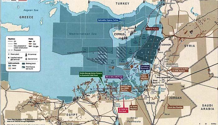 Αμερικανικός χάρτης πoυ ανατρέπει πολλά στην Ανατολική Μεσόγειο