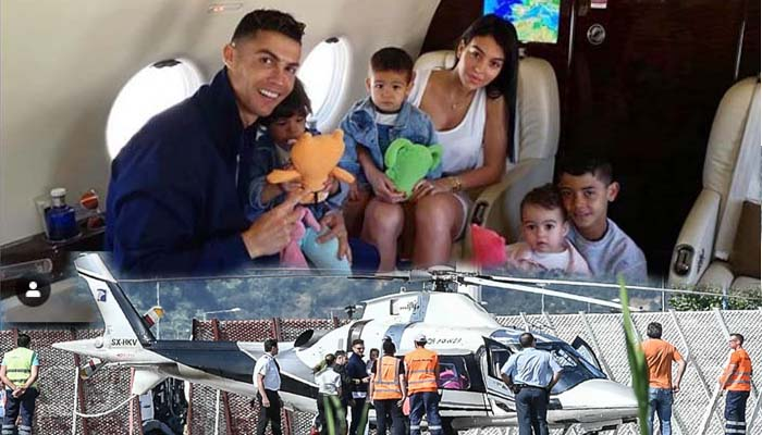 Ξανά στην Πύλο, στο Costa Navarino, για διακοπές με την οικογένειά του ο Κριστιάνο Ρονάλντο