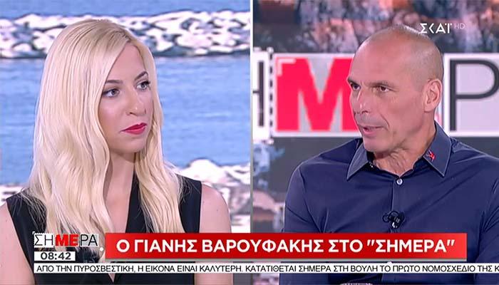 Γιάνης Βαρουφάκης: Οι σύντροφοι του ΣΥΡΙΖΑ που θα βγουν στους δρόμους θα είναι γραφικοί