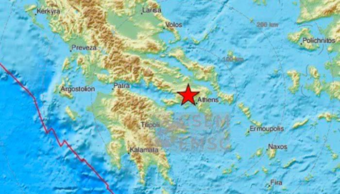 Ισχυρός σεισμός μεγέθους 5,1 Ρίχτερ ταρακούνησε την Αθήνα