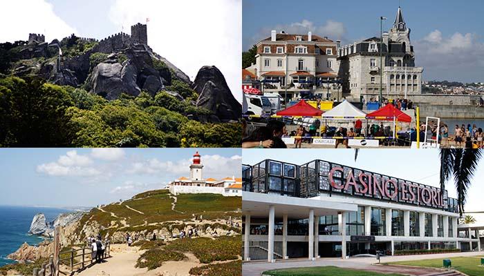 Αποστολή στην Πορτογαλία: Σίντρα, Κάμπο Ντα Ρόκα, Εστορίλ, Κασκαίς και παραλία Καρκαβέλος