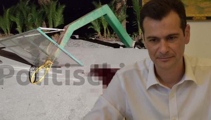 Συνελήφθη ο δήμαρχος Χίου, Μανώλης Βουρνούς για το θάνατο τουρίστα από πτώση μπασκέτας