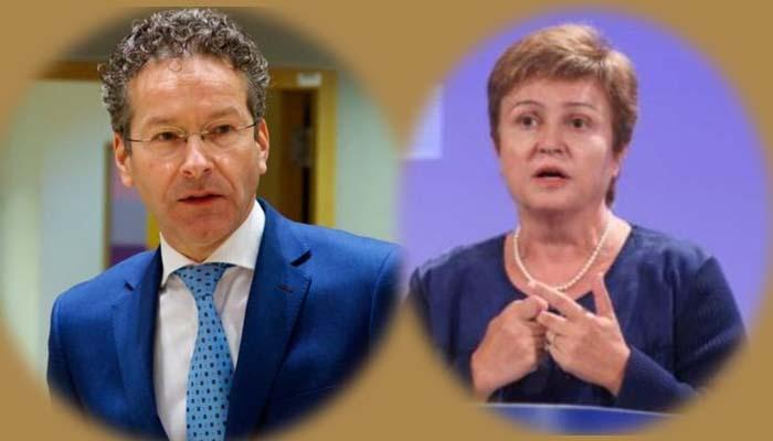 Δυο οι μονομάχοι για το ΔΝΤ, ο Ντάισελμπλουμ και η Γκεοργκίεβα -Εκτός ο Ολι Ρεν