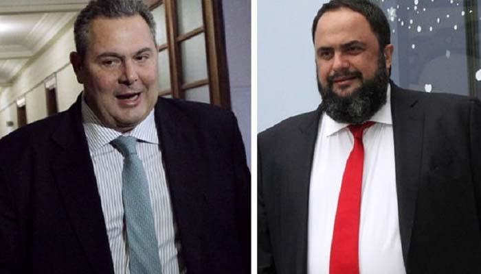 Μήνυση & καταγγελία Καμμένου για επίθεση από ανθρώπους που επέβαιναν στο σκάφος Μαρινάκη