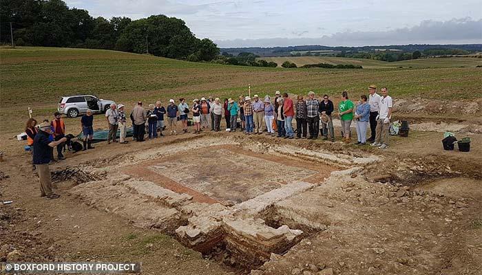 Ανακαλύφθηκε σε χωριό της Αγγλίας σπάνιο μωσαϊκό με Ελληνίδα πριγκίπισσα