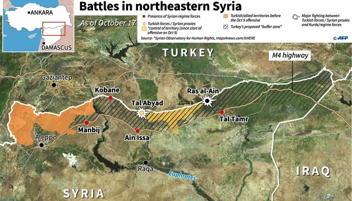 Αποχώρησαν οι Κούρδοι μαχητές από τη Ρας αλ-Αϊν της βόρειας Συρίας