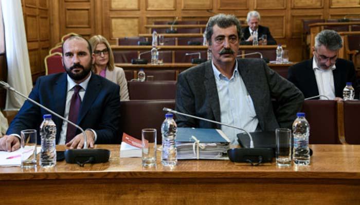 Βουλή: Εξαιρέθηκαν Τζανακόπουλος και Πολάκης από την Προανακριτική για τον Παπαγγελόπουλο