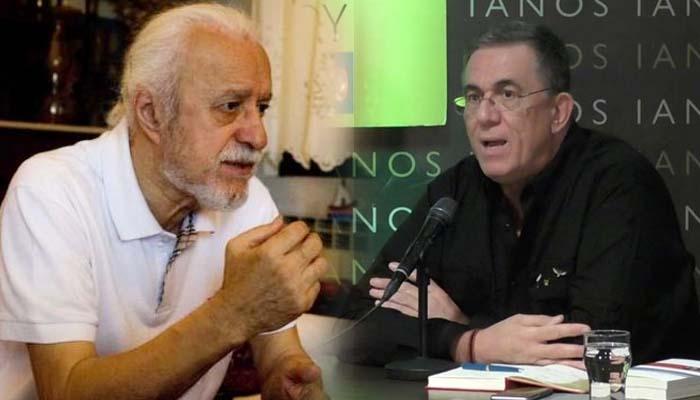 Ο Νίκος Θρασυβούλου συνομιλεί με τον Νότη Μαυρουδή στον Ιανό