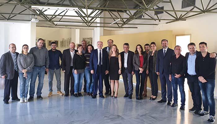 Ι.Π. Μεσολογγίου: Συνάντηση εργασίας στο Αιτωλικό, στο πλαίσιο του προγράμματος MUSE