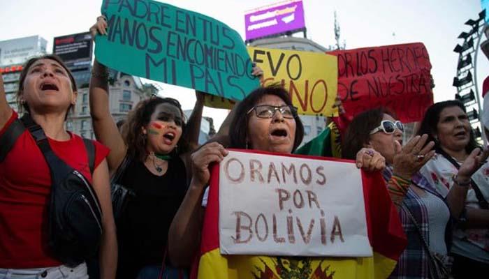 Χάος στη Βολιβία μετά την παραίτηση Μοράλες
