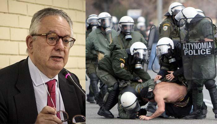 Ο Χρυσοχοΐδης συγκροτεί επιτροπή με τον Ν. Αλιβιζάτος πρόεδρο ια τη διερεύνηση αστυνομικής βίας