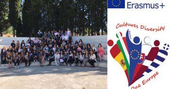 Συμμετοχή του 1ουΛύκειου Παλλήνης στο πρόγραμμα Erasmus+ με τίτλο «Cultures Diversity, One Europe»