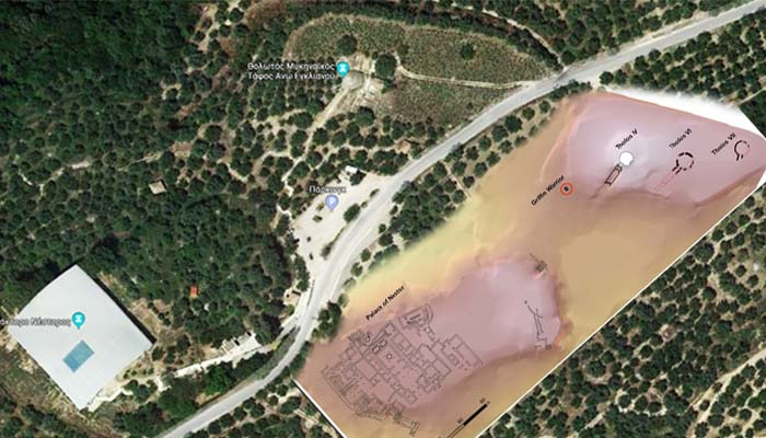 Νέα συγκλονιστικά ευρήματα δίπλα στον τάφο του «γρύπα-πολεμιστή» στον Άνω Εγκλιανό, στην Πύλο Μεσσηνίας