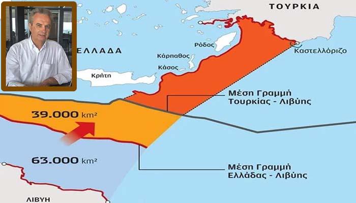 Γιάννης Μαγκριώτης: Η Τουρκία κάνει πλάκα και ψηφίζει το μνημόνιο με την Λιβύη σήμερα στην Βουλή τους.