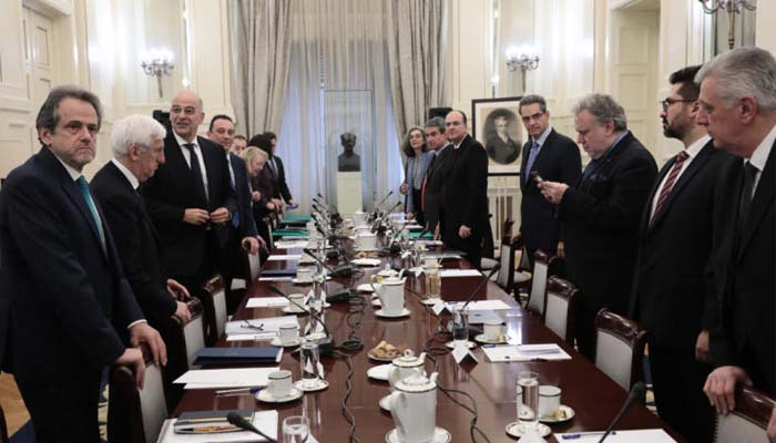 O Δένδιας για το Εθνικό Συμβούλιο Εξωτερικής Πολιτικής: Διαπιστώθηκε εθνική σύμπνοια και ομόνοια