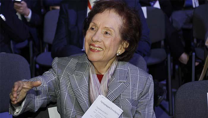 Η Άννα Μπενάκη-Ψαρούδα πρόεδρος της Ακαδημίας Αθηνών από την 1η Ιανουαρίου