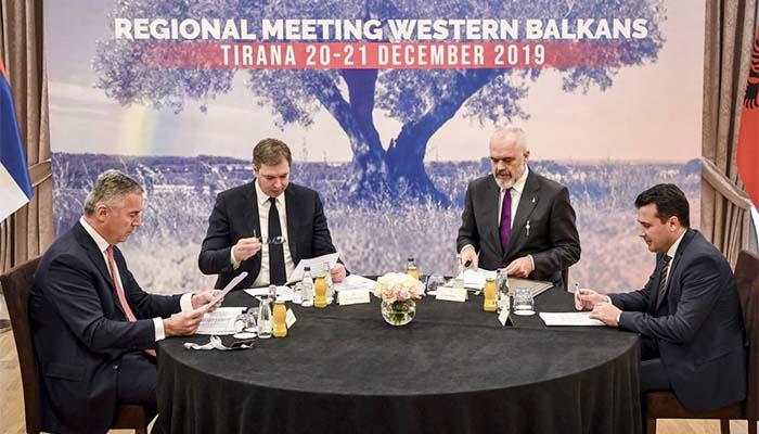 Oι ηγέτες των Δυτικών Βαλκανίων συζήτησαν για τη δημιουργία μς ζώνης ελεύθερης κυκλοφορίας προσώπων και αγαθών