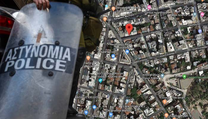Εξάρχεια: Μεγάλη επιχείρηση της Δίωξης Ναρκωτικών σε διαμέρισμα
