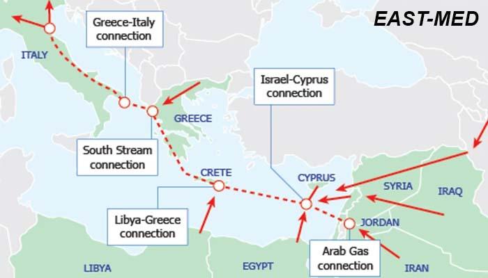 Τι είναι ο EAST-MED και γιατί αναβαθμίζει την γεωστρατηγική θέση της Ελλάδας
