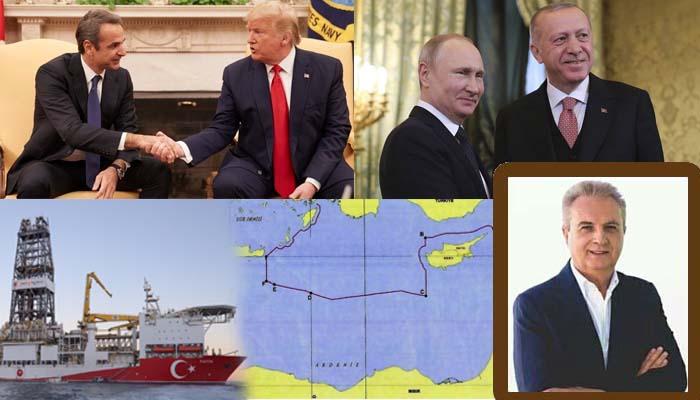 Γιάννης Μαγκριώτης*: Τραμπ και Πούτιν συναγωνίζονται σε υποκρισία και μοιράζουν την Ανατολική Μεσόγειο με τον Ερντογάν