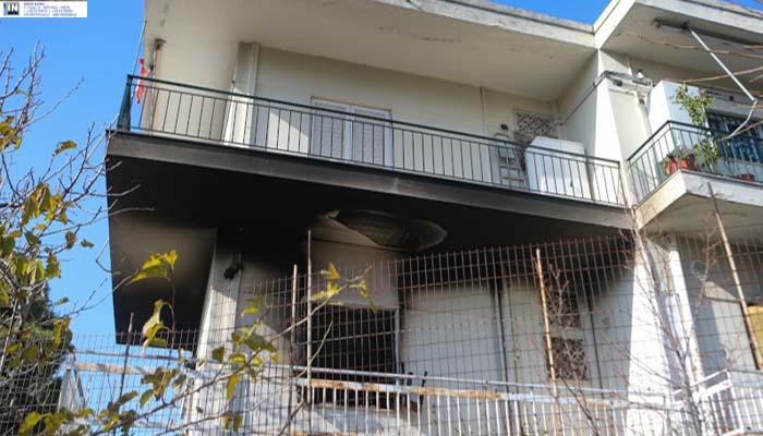 Πυρκαγιά σε διαμέρισμα στα Μελίσσια με έναν τραυματία