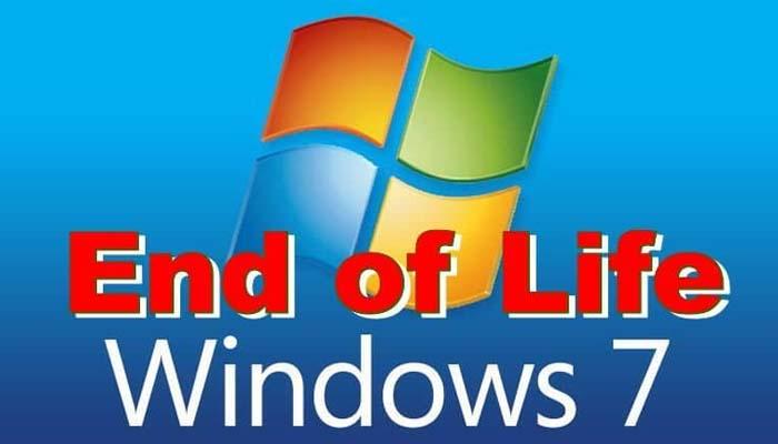 Η Microsoft σταματά από σήμερα την τεχνική υποστήριξη των Windows 7