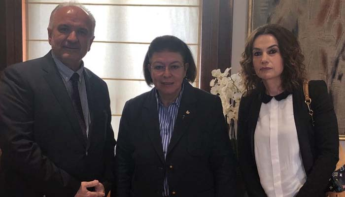 Συνάντηση του Δημάρχου Ιερής Πόλης Μεσολογγίου Κώστα Λύρου με την Υπουργό Πολιτισμού Λίνα Μενδώνη