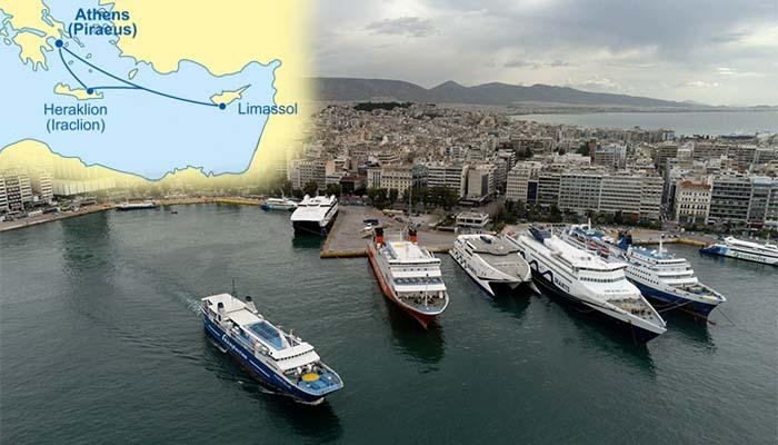 Επαναλειτουργεί η γραμμή Κύπρος-Ελλάδα με ταξίδι 30 ωρών
