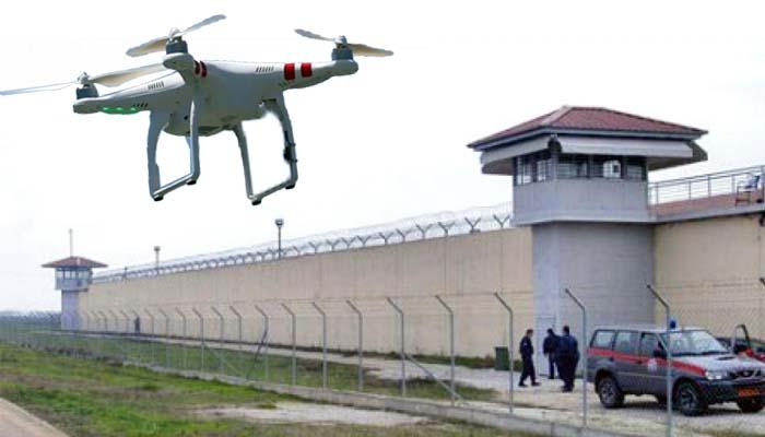 Στις φυλακές Τρικάλων έριξαν ναρκωτικά και κινητά με drone
