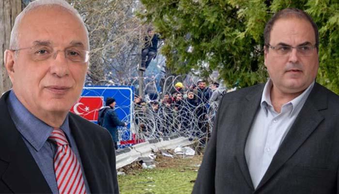 Χαλάνδρι: Αντιπαράθεση Γιώργου Κουράση με Σίμο Ρούσσο για τα τεκταινόμενα στο Έβρο και το προσφυγικό-μεταναστευτικό